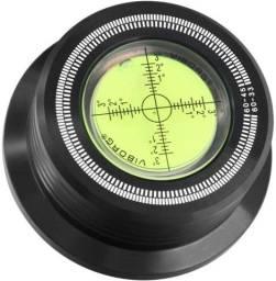 Clamp para toca discos 280g com nivelador e estroboscópio
