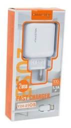 Carregador turbo celular Iphone  -Entrega grátis para toda Campo Grande