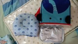 Bolsa térmica bebê + travesseiro