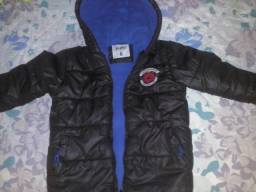 Jaqueta forrada tamanho 8