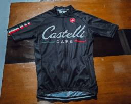 Réplica Uniforme de Ciclismo Castelli Café