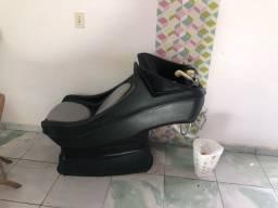 Lavatório  carrinho  cadeira