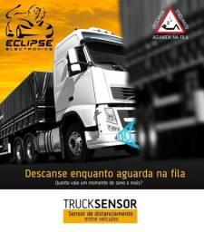 Alarme para motorista descansar no caminhão