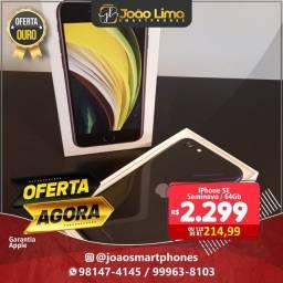 IPHONE SE 2 GERAÇÃO, 64GB, SEMINOVO TOP, GARANTIA APLLE