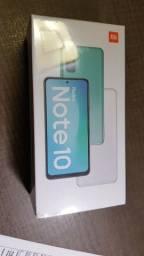 Título do anúncio: Smartphone Xiaomi Redmi Note 10 4/64 GB Cinza - Original - Versão Global - Caixa Lacrada