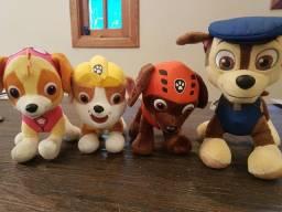 Pelúcias da patrulha canina, originais 30 cm cada