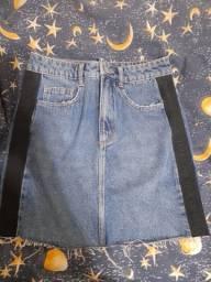Saia jeans fyi tamanho 36