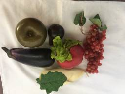 Frutas de decoração