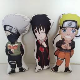 Almofadas Naruto trio de almofadas