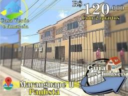 Imóvel em Maranguape 2, Estilo Privê Por 120 Mil, com 2 Qts.