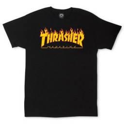 Camisa Thrasher Skateboard Unissex Cores e Tamanhos Variados