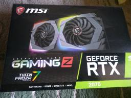 Placa de Video msi GeForce RTX 2070 gaming Z Dual, 8GB