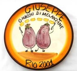 Prato Boa Lembrança Giuseppe Gnocchi Di Melanzane - Rio 2001