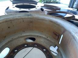 Roda disco de ferro para carreta 1100/22 caminhões , 295, 275, 4 peças