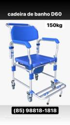 Cadeiras de rodas para banho e higienização *