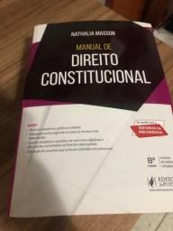 Manual de Direto Constitucional 8ª ED. Nathalia Masson