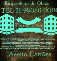 Atenção Campo Grande, Caxias , Madureira Trabalhamos com Obras e Reformas em Geral