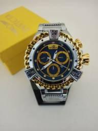 Relógio masculino lindo demais novo com garantia