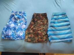 Shorts Estampados 35 cada