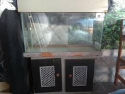 Vendo aquário 100 litros