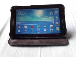 Tablet Samsung + Capa Giratória