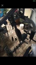 Maquina de exercício ginastico