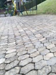 Piso intertravado - bloquete concreto
