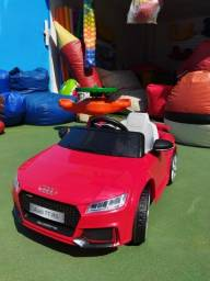 Venda Carro Elétrico infantil Audi TT RS vermelho - A pronta entrega