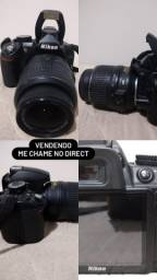 Camera Nikon D3100 preta