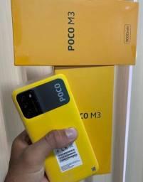 XIAOMI POCO M3 64GB 4GB RAM TELA 6.53 48mpx 6000mAh bateria