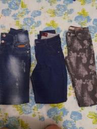 3 calças n 40