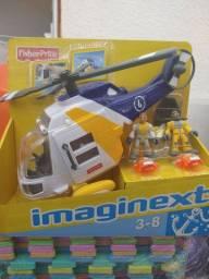Helicoptero aventura imaginext