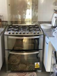 Fogão Electrolux duplo forno