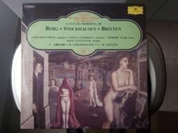 Berg - Stockhausen - Britten / Enciclopédia Salvati - Lp