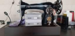 Máquina de costura motorizada singer crosley