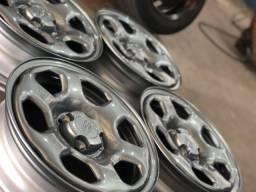 Rodas aro 15 Ferro Ford