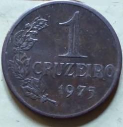 1 cruzeiro de 1975