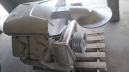 Compressor de ar silo de cimento carreta a granel