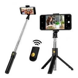Selfie com Tripé wireless