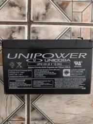 Vendo bateria de( 6 V 12 Ah)