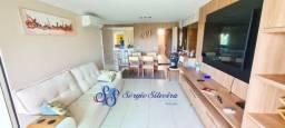 Mobilia inclusa, varanda gourmet: Golf ville Resort Porto das Dunas 115m