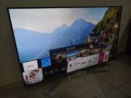 Smart TV LG 4K 55 wi-fi integrado Bluetooth inteligência artificial comando de voz