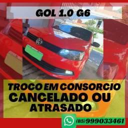 GOL G6 ANO 2016 ( TROCO EM CONSÓRCIO)
