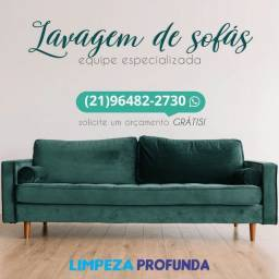 Lavagem/limpeza a seco de sofás e colchões