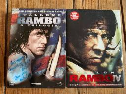DVD Rambo 1 ao 4