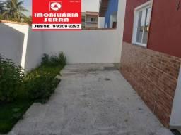 JES 056. Vendo casa nova em Jacaraípe há 2km da praia. Área útil 60M², Área total 100M²