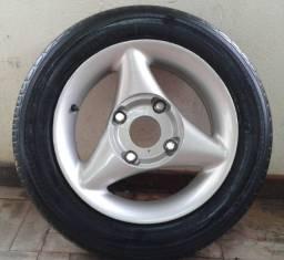 Jogo de rodas Esfirra aro 14 com pneus na promoção !!!