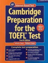 Livro preparatório Toefl iBT com 8 CDS