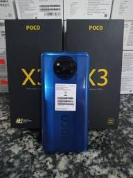 Xiaomi Poco X3 128gb, 6ham, câmera 64m, lacrado, com garantia.