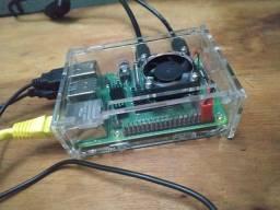 Raspberry pi 4 com todos acessórios